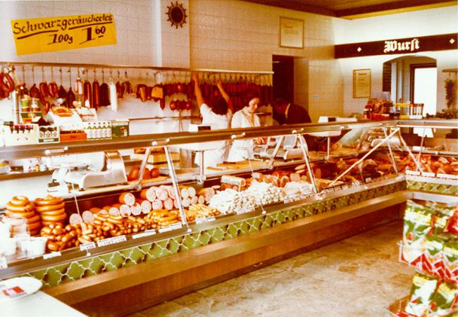 Butcher's shop 1972